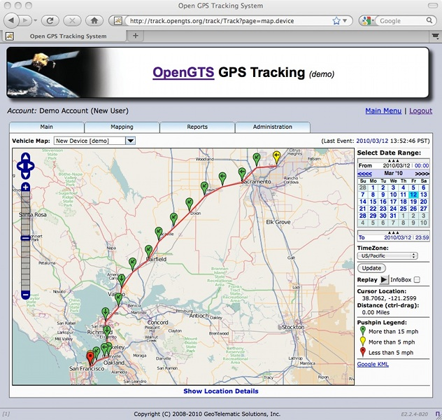 GPS Tracking: Open-Source GPS Tracking System - OpenGTS